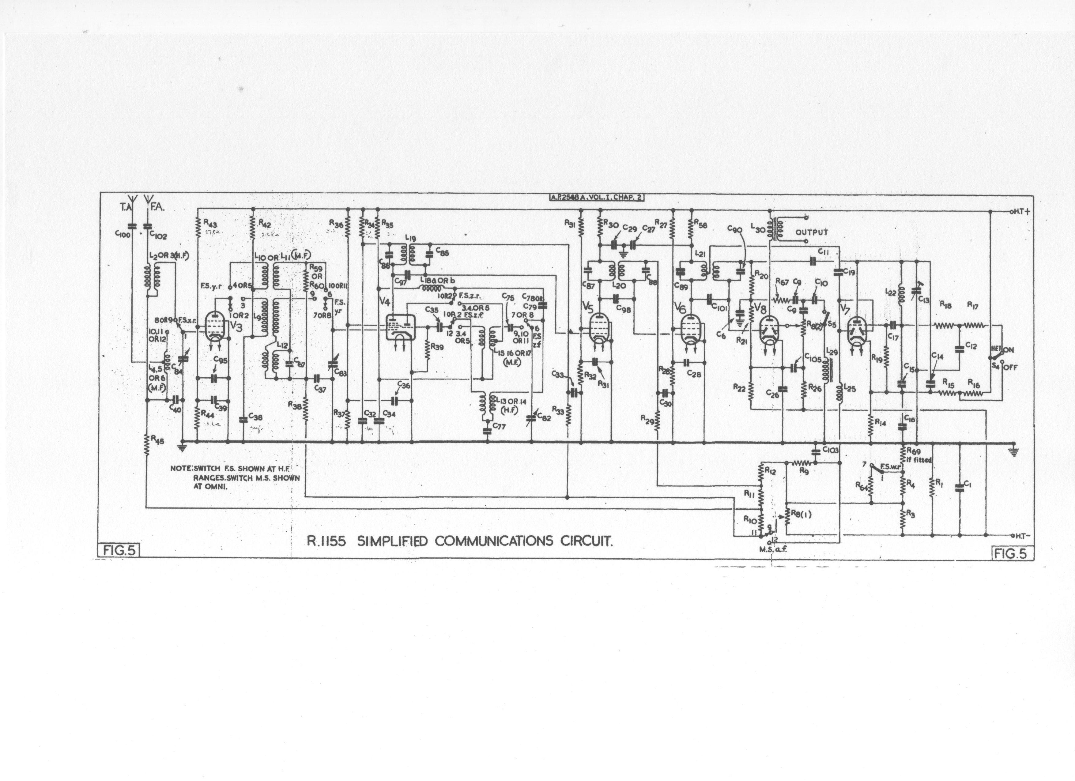 R 1155 kapcsolási rajz