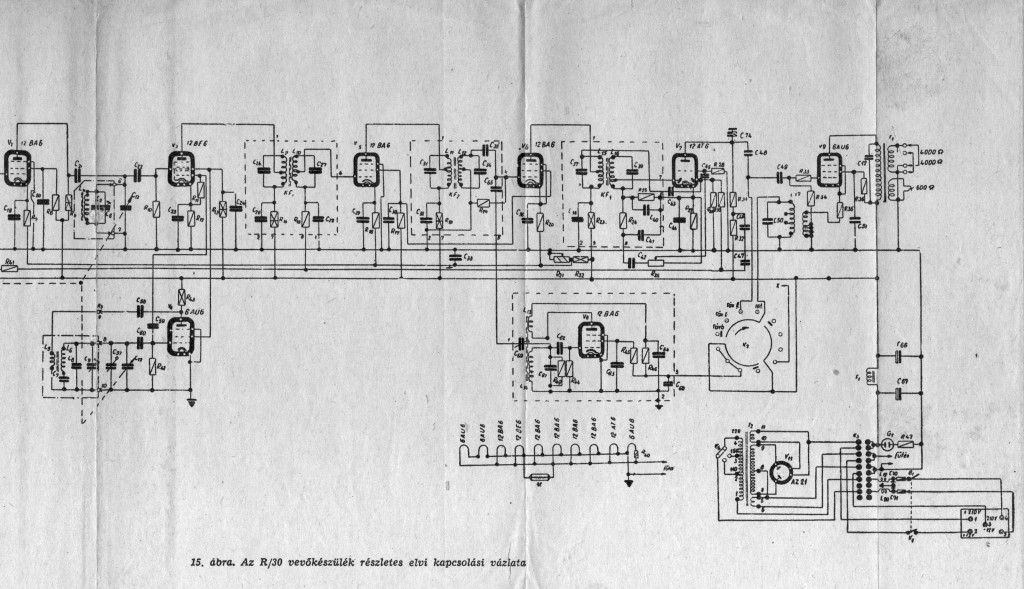 R-30 vevő kapcs r 2 001