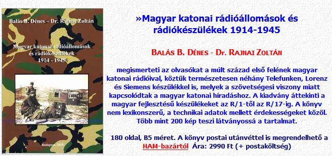 A magyar katonai rádióállomások és rádiókészülékek reklám
