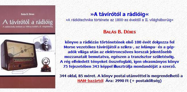 A távírótól a rádióig hirdetés
