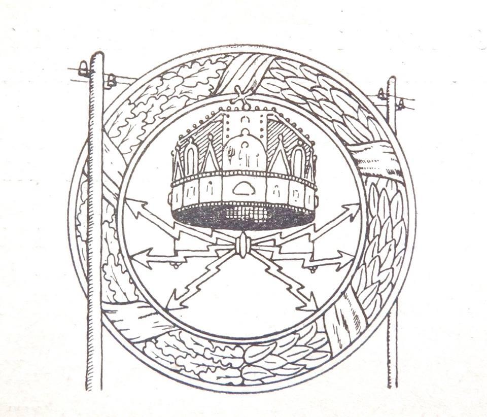 Távírász jelvény 1917 előtt